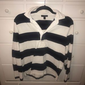 J. Crew Rugby Striped Top